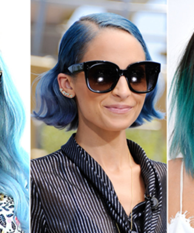 Kesha Blue Hair