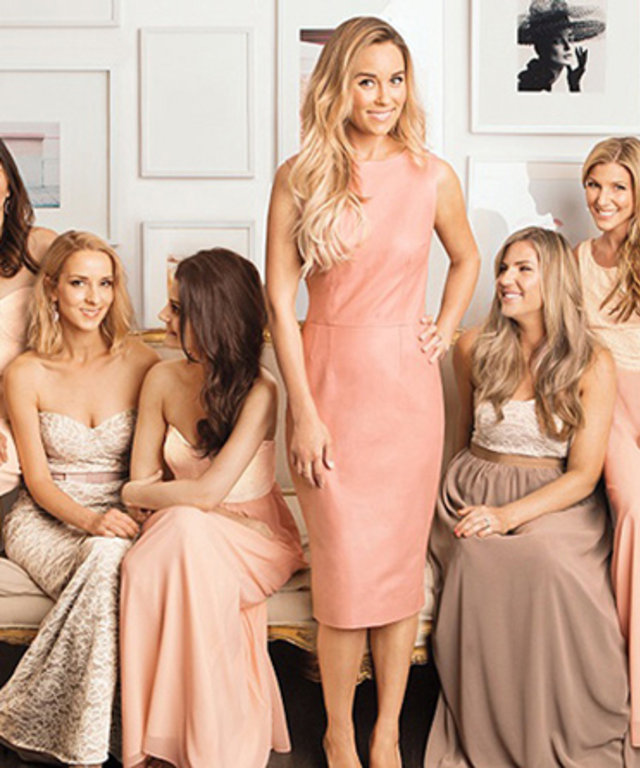 5be2d20f4a5cb Bride-to-Be Lauren Conrad Gets in the Wedding Spirit with a Line of Bridesmaid  Dresses