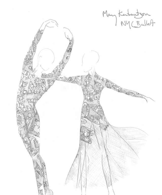 Mary Katrantzou x NYC Ballet