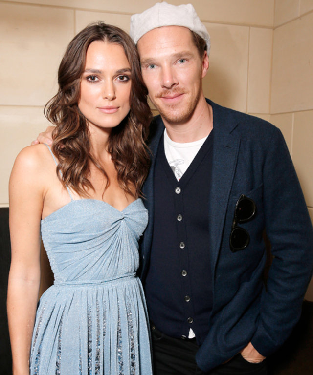 Keira Knightley and Benedict Cumberbatch at InStyle + HFPA TIFF Party