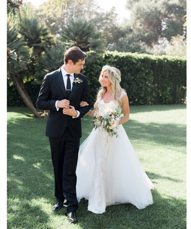 Ashley Tisdale is Married