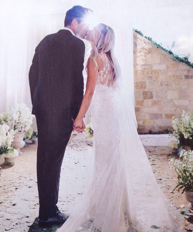 Lauren Conrad's Wedding Dress