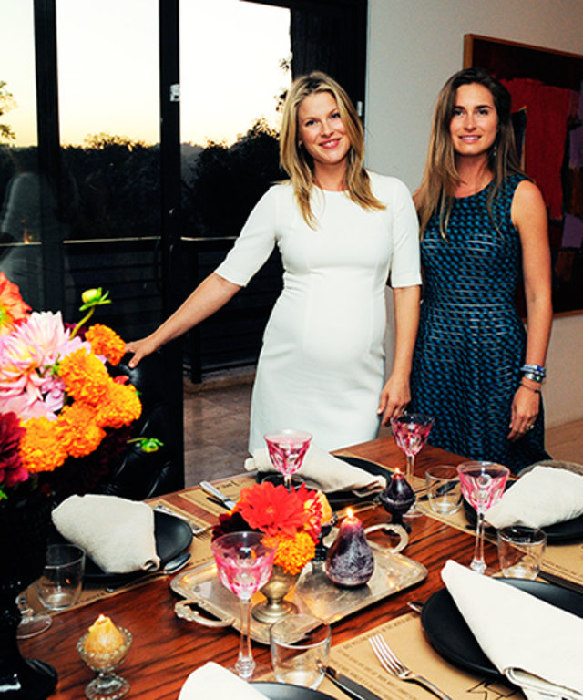 Ali Larter FEED Supper