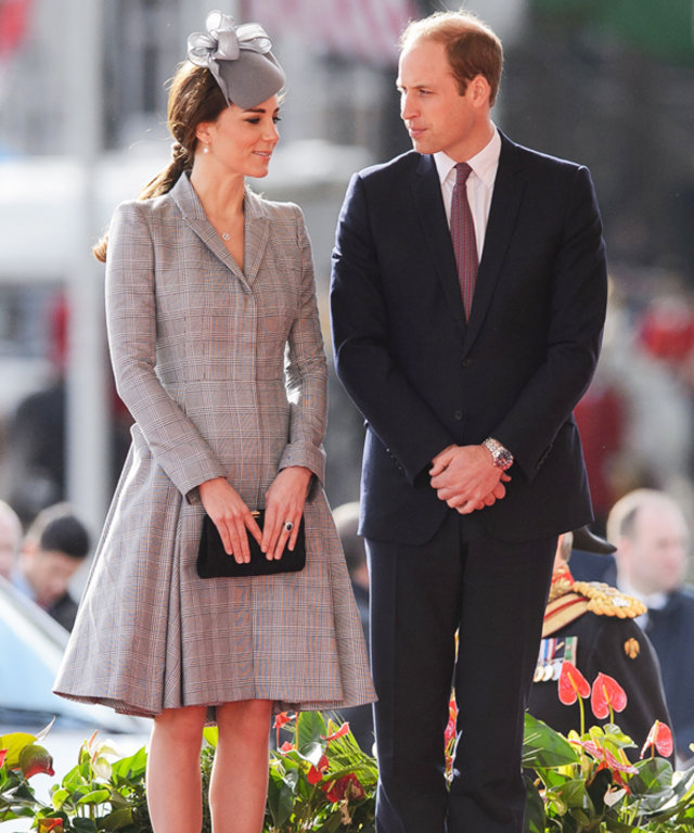 Kate Middleton first official  engagement since pregnancy.