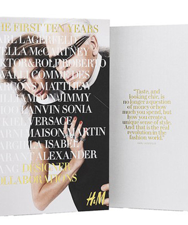 H&M First Ten Years Commemorative Book