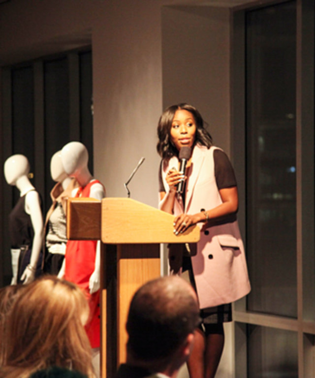 Kahlana Barfield at Blog Meets Brand Event
