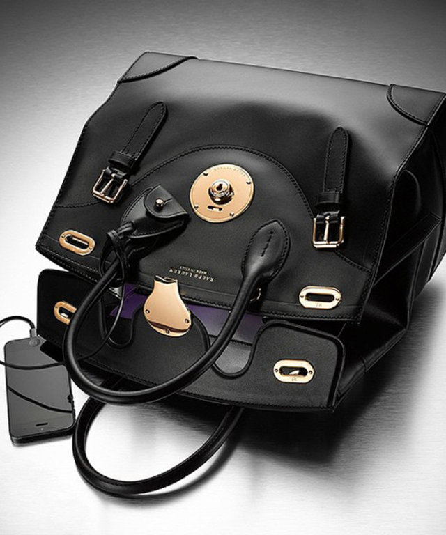 a8e9991fbd33 Ralph Lauren Designs a Chargeable Bag with a Light