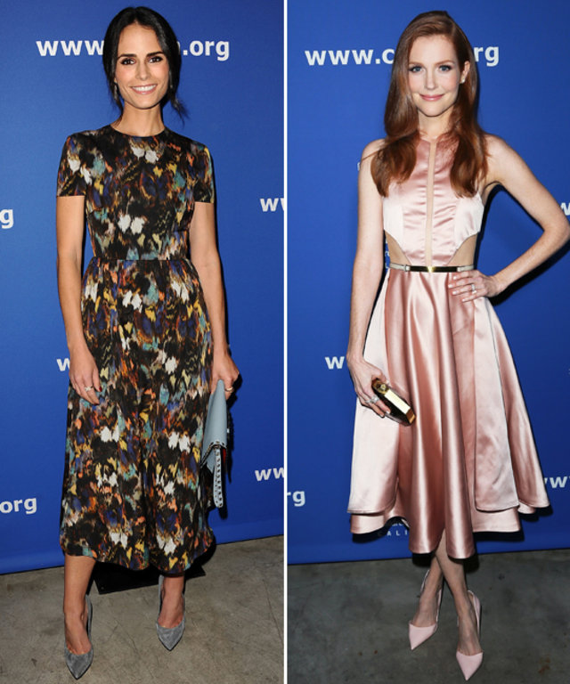 Jordana Brewster and Darby Stanchfield at Children's Defense Fund 24th Annual Beat the Odds Awards