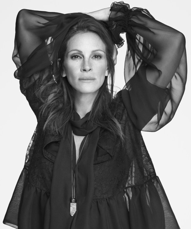 Julia Roberts in Givenchy's Spring/Summer 2015 Campaign