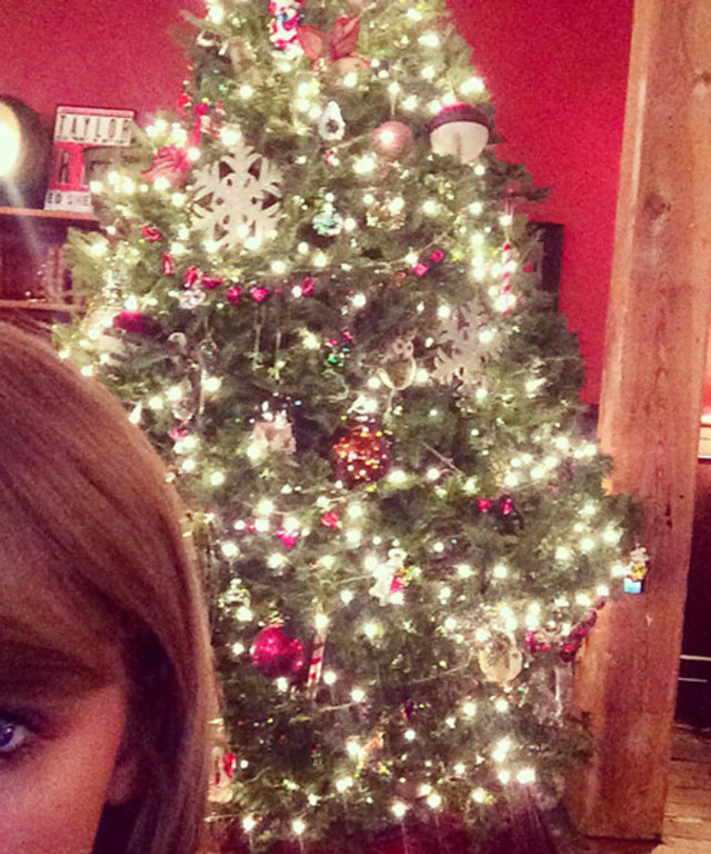 Taylor Swift's Christmas Tree