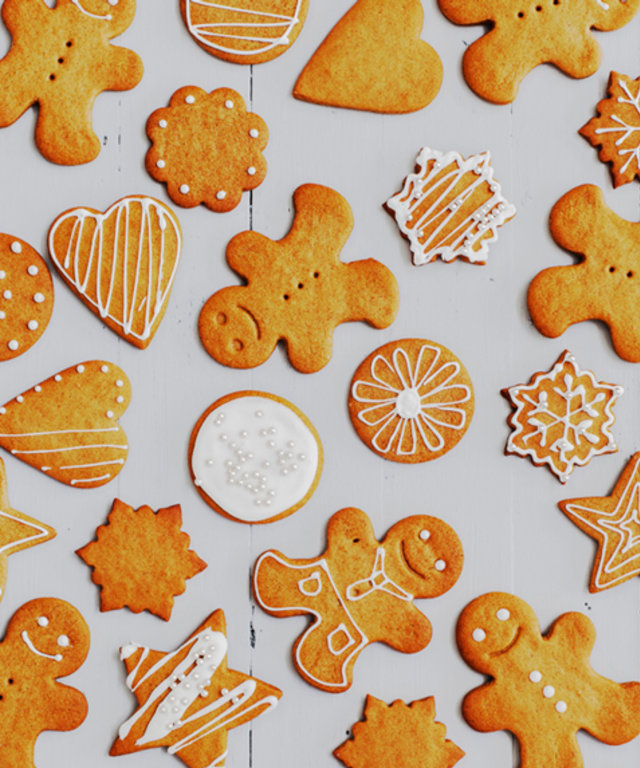 12 Days Of Cookie Recipes Iced Gingerbread Cookies Instyle Com