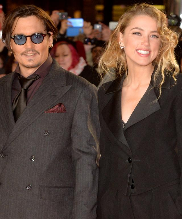 Johnny Depp and Amber Heard Marry