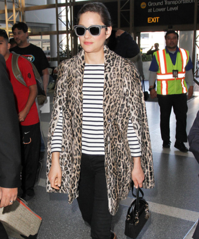 Marion Cotillard Airport Style