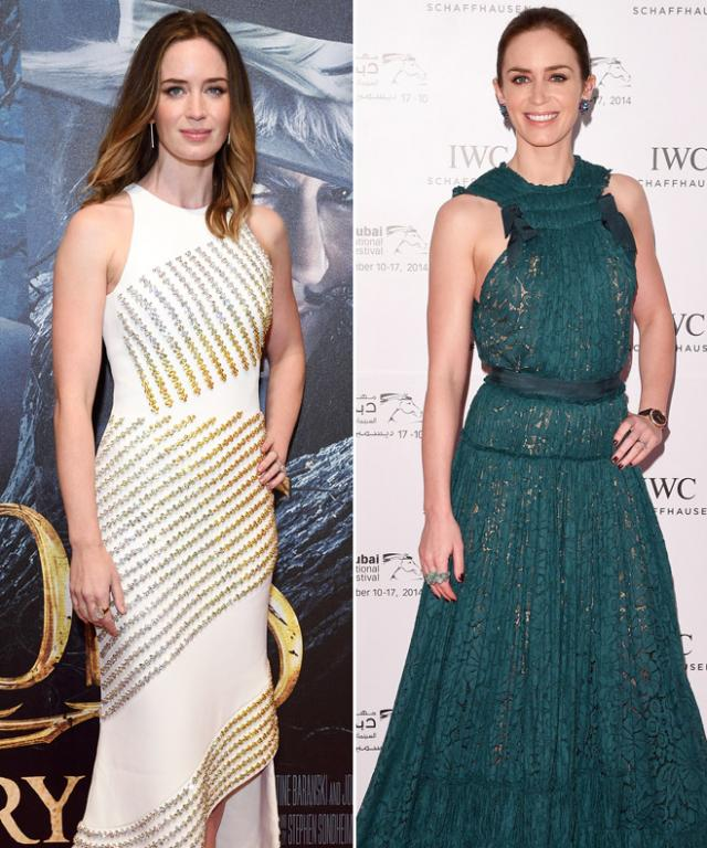 Emily Blunt Best Red Carpet Looks