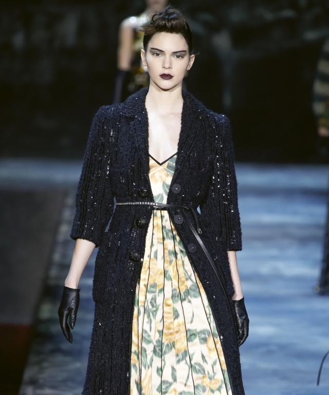 Kendall Jenner at Marc Jacobs NYFW Runway Show