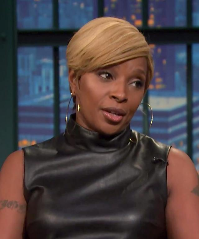 Mary J. Blige Empire Cameo Late Night