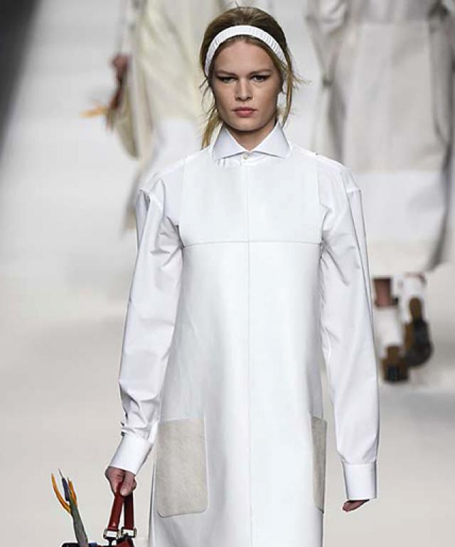 February 26, 2015 - Fendi Fall Winter 2015 RTW Collection in Milan, Italy