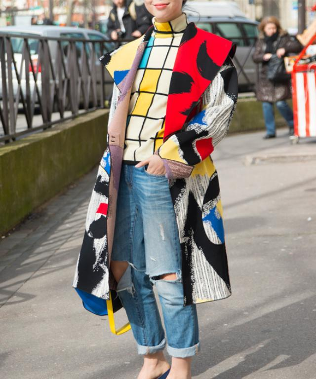 Susie Bubble in Celine