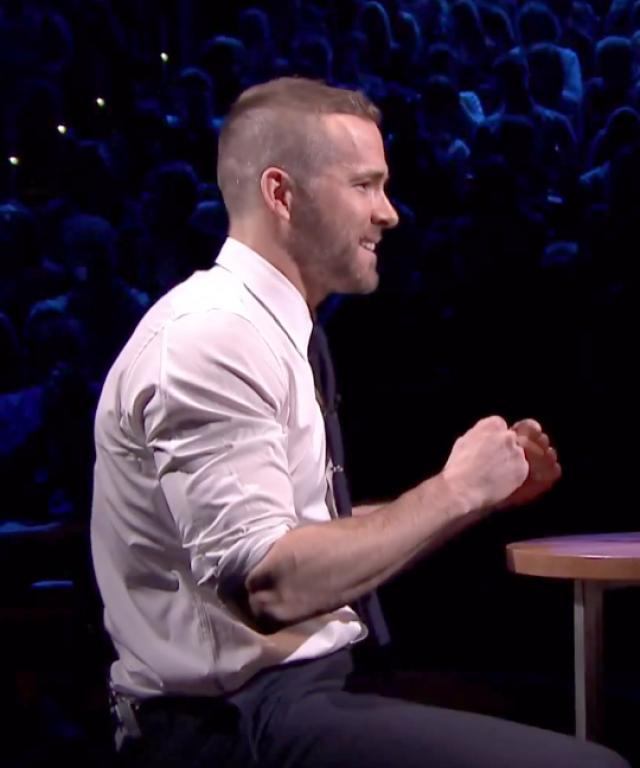 Ryan Reynolds Jimmy Fallon Egg Russian Roulette