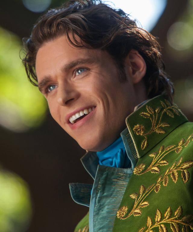 Richard Madden as Cinderella's Prince Charming
