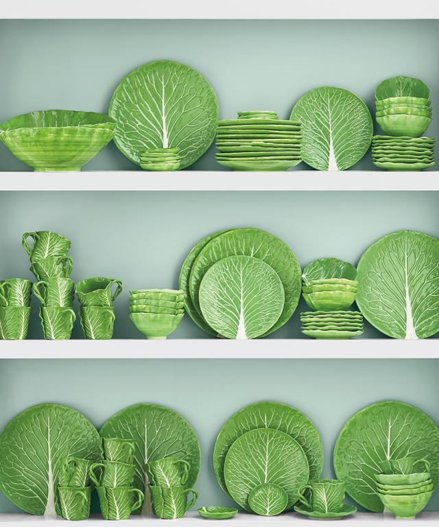 Tory Burch x Dodie Thayer collaboration: new lettuce-ware