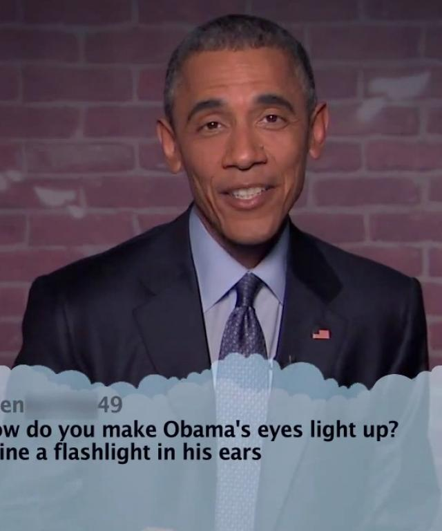 President Barack Obama Mean Tweets
