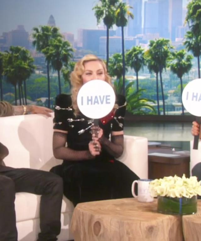 Madonna and Justin Bieber on The Ellen Show