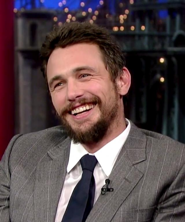 James Franco Fat Animal Paintings Late Show