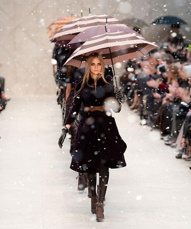 Burberry Fall 2012 runway show