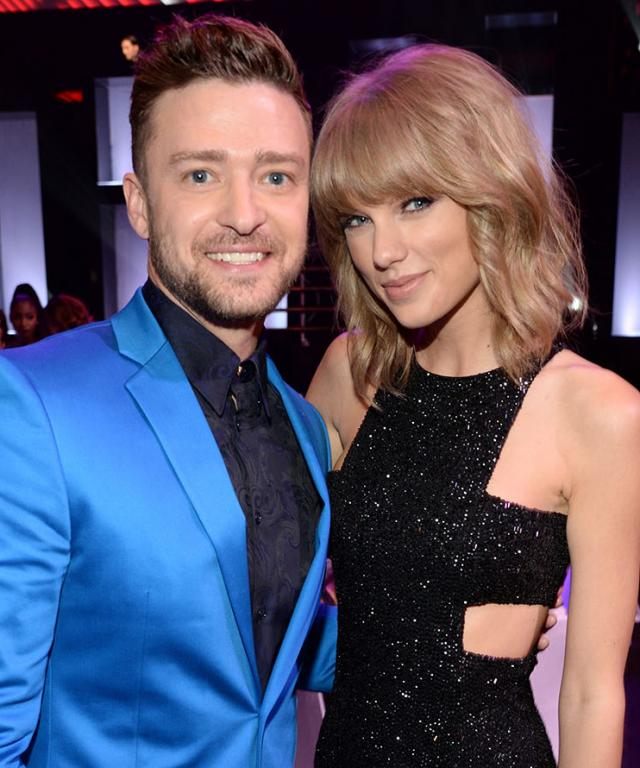 Justin Timberlake and Taylor Swift 2015 iHeartRadio Music Awards