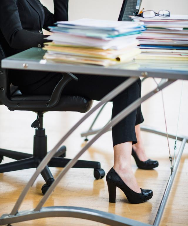 Shoes at Your Desk