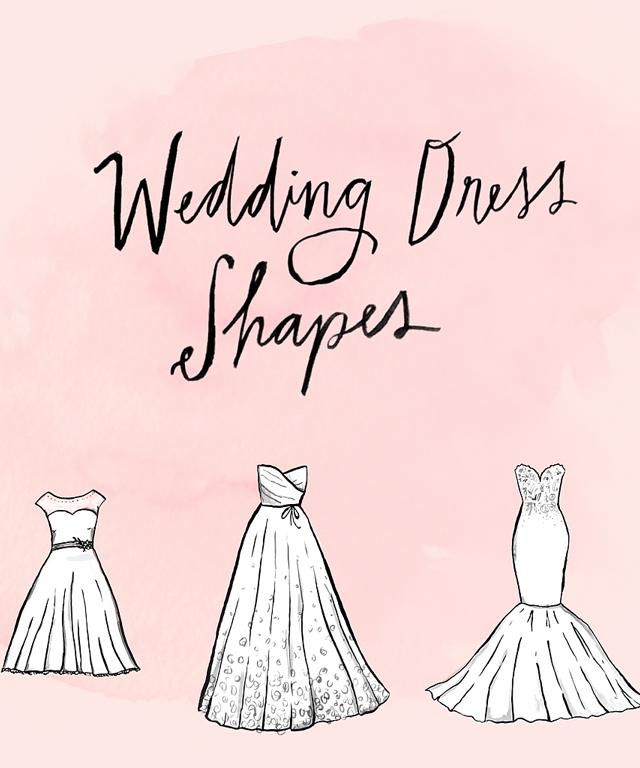 A Complete Guide to Wedding Dress Shapes
