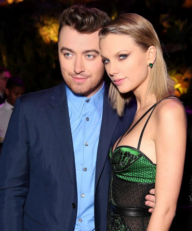 Sam Smith and Taylor Swift