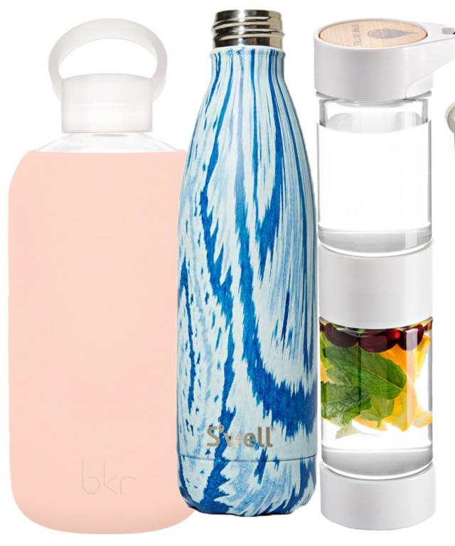 The bkr Bottle, S'well Bottle, and the Define Bottle