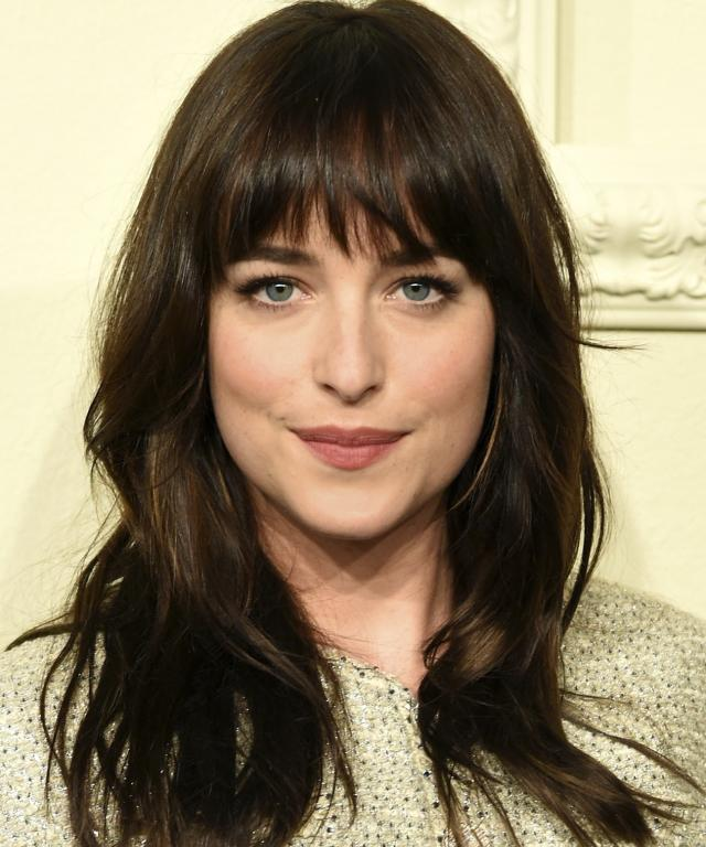 Dakota Johnson short hair