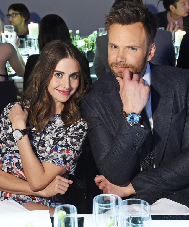 Alison Brie and Joel McHale
