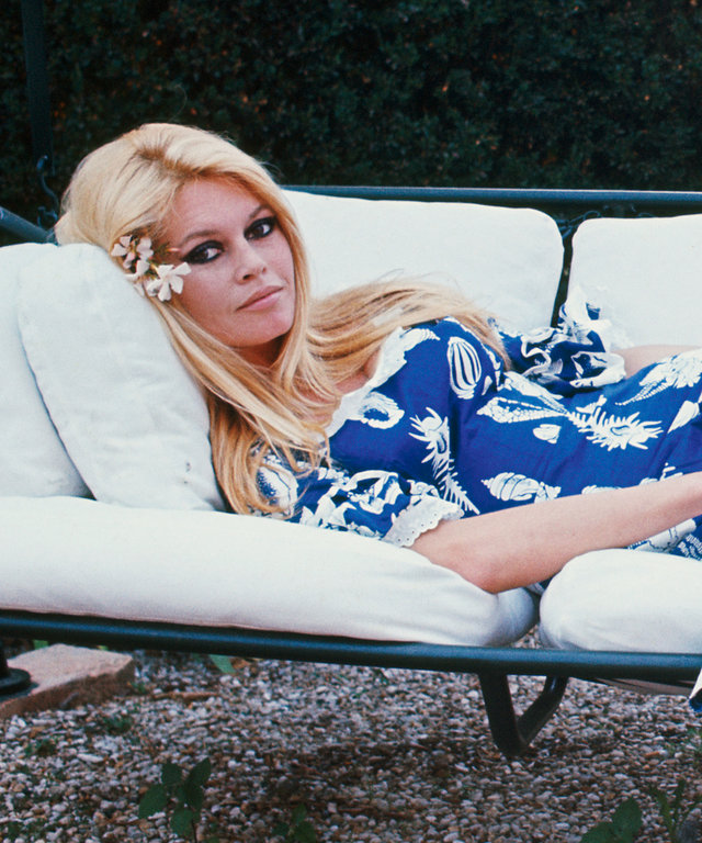 Brigitte Bardot And Gunter Sachs In Rome