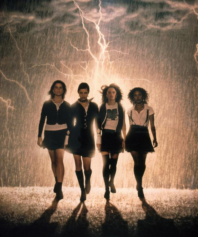 THE CRAFT, Robin Tunney, Neve Campbell, Rachel True, Fairuza Balk, 1996, mural