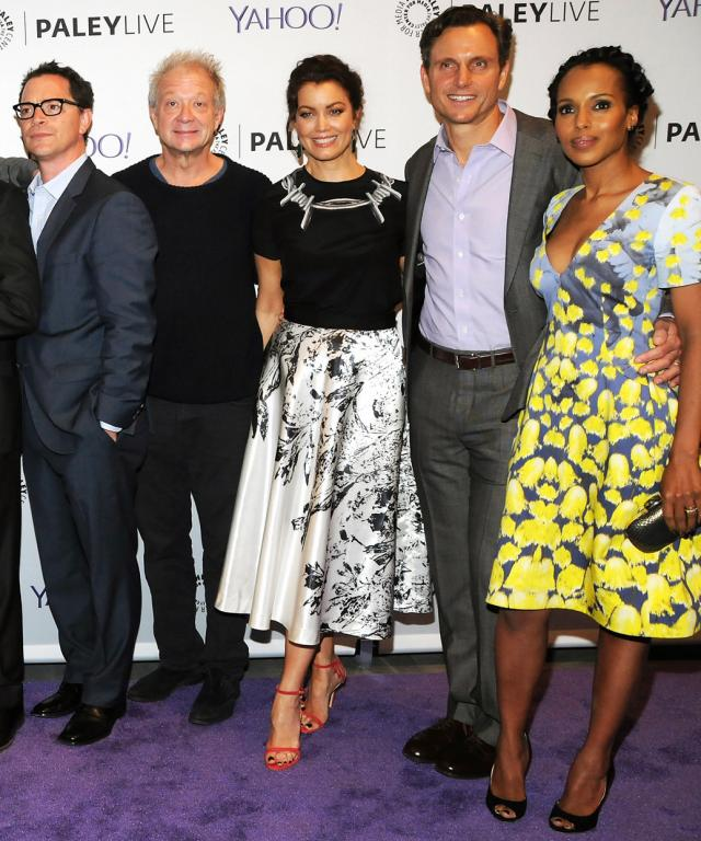 The Paley Center For Media Presents An Evening With The Cast Of  Scandal