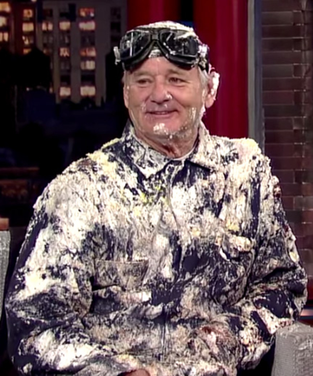 Bill Murray on David Letterman