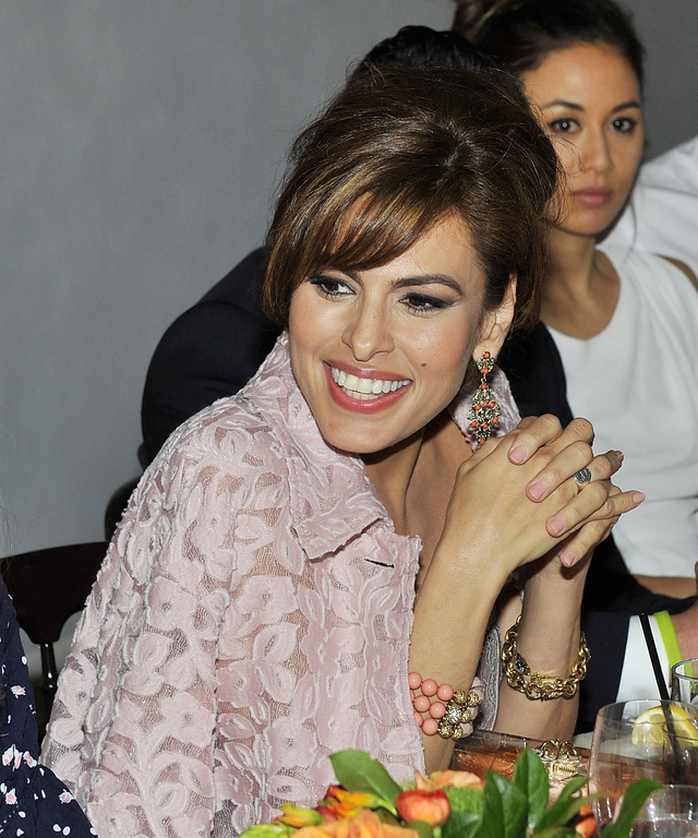 Eva Mendes Exclusively At New York & Company Spring Launch Dinner