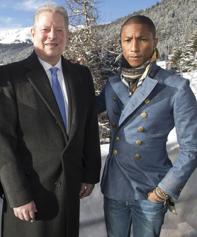 Pharrell Williams and Al Gore - Lead