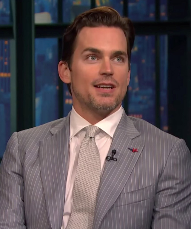 Matt Bomer on Seth Meyers