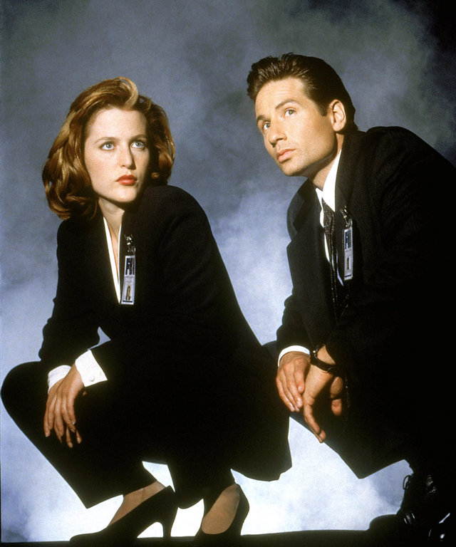 THE X-FILES, Gillian Anderson, David Duchovny, 1993-2002.