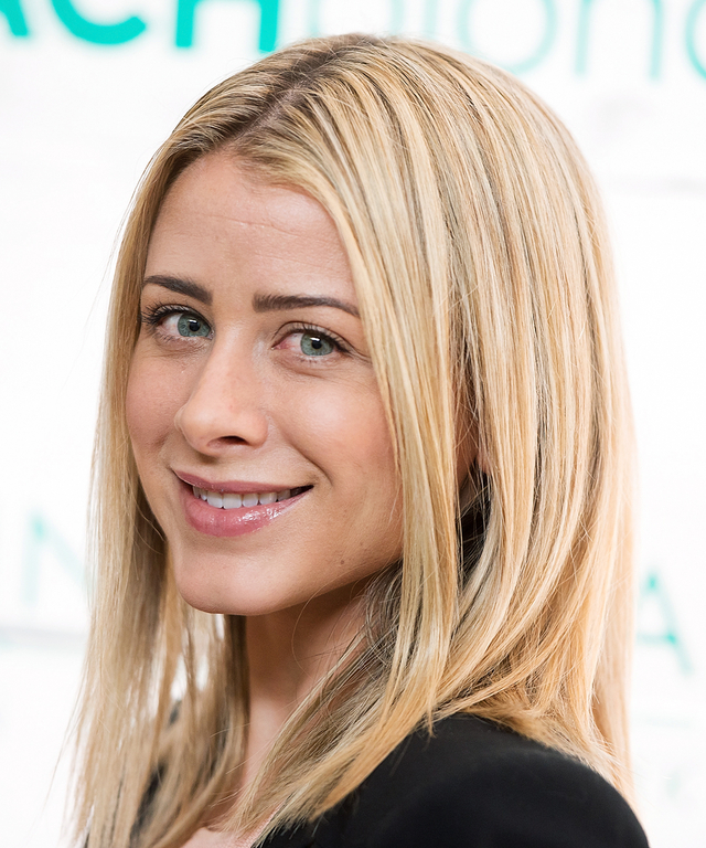 TV personality Lo Bosworth attends John Frieda Hair Care Beach Blonde Collection Party at the Garage on February 5, 2015 in New York City.
