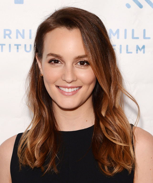 Actress Leighton Meester attends the premiere for 'Like Sunday, Like Rain' at the Rafael Film Center on October 6, 2014 in Mill Valley, California.