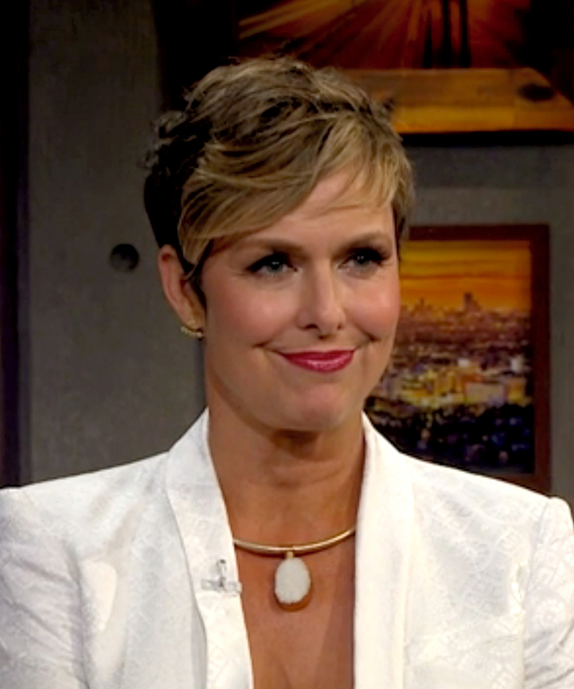 Melora Hardin on James Corden