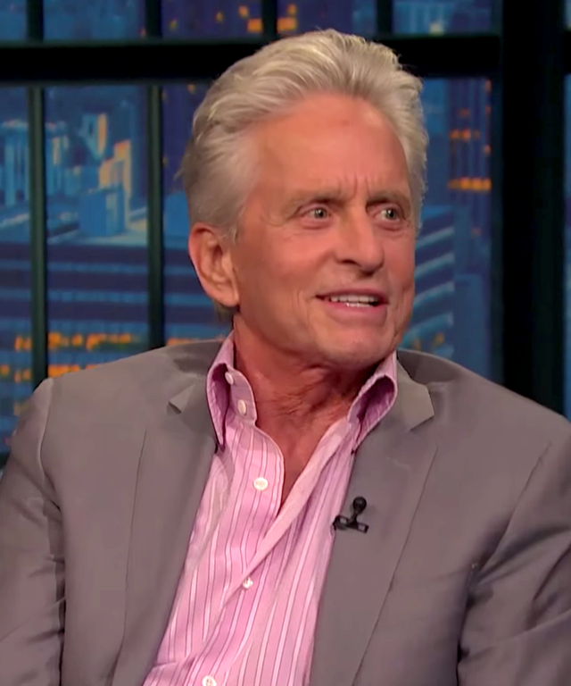 Michael Douglas on Seth Meyers