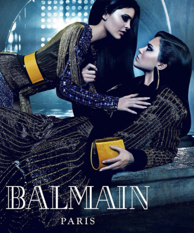 Kendall and Kylie Jenner for Balmain - Lead