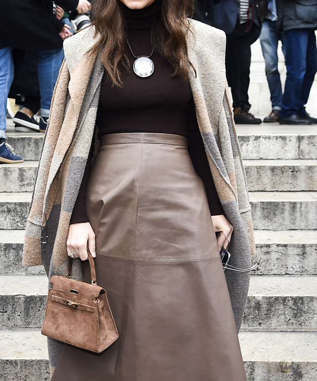 Celebrity Sightings On Day 7  Of Paris Fashion Week Fall Winter 2015/2016